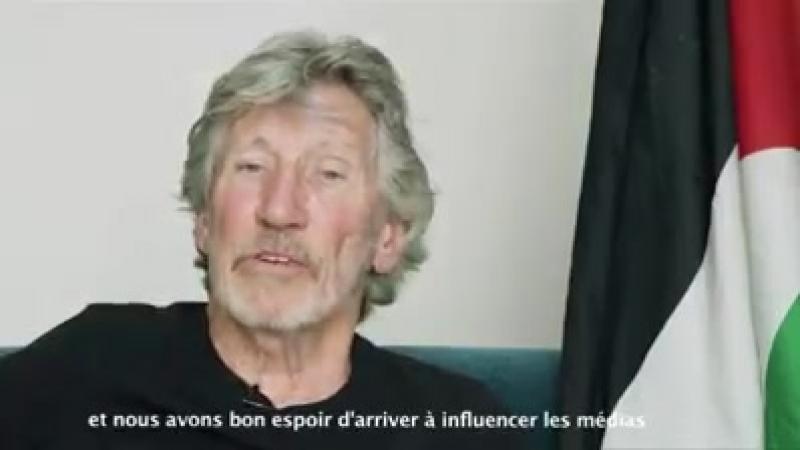 Message de Roger Waters pour BDS Saint-Étienne et tous ceux qui soutiennent le peuple palestinien à travers le monde