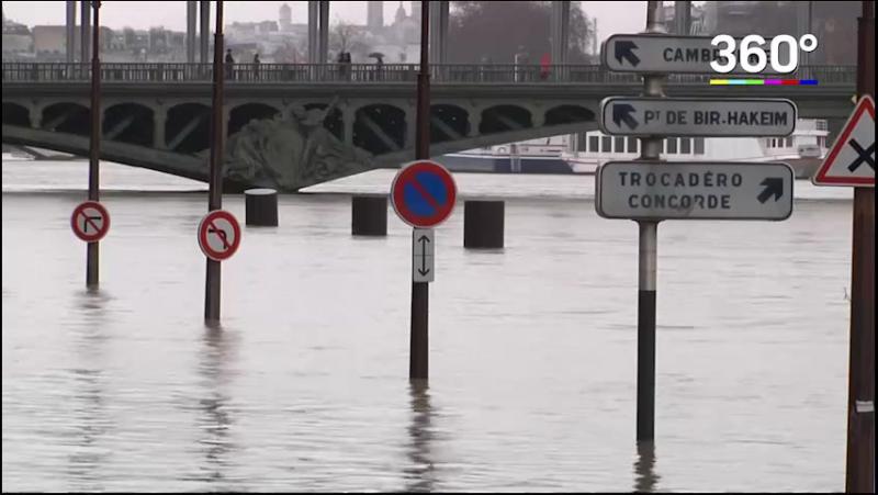 На Москву надвигается циклон, подтопивший Париж