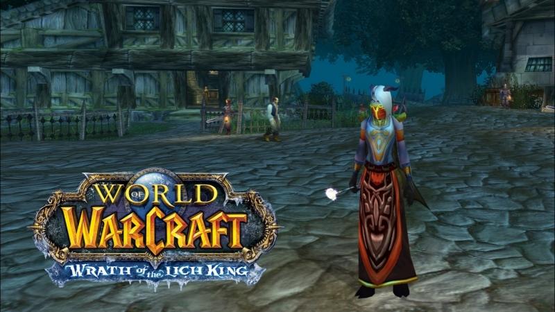World of Warcraft Lich King 3.3.5 Isengard x2 прохождение за фрост мага 9 Убийцы короля