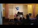 Дипломант межгосударственного конкурса юных пианистов Музычная Лілея 2018г Пакшинцева Мария