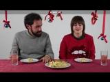 Эмоциональные итальянцы пробуют русские новогодние блюда