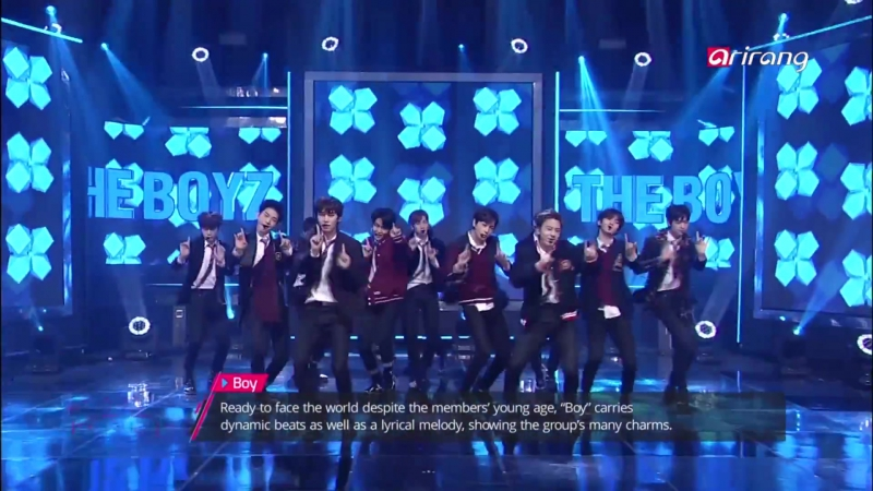 [PERF] 151217 THE BOYZ – Boy (Simply K-pop)
