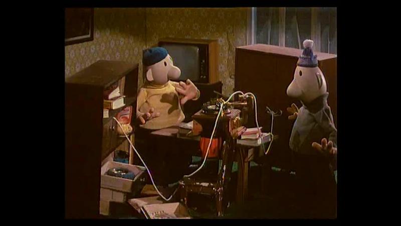 Пат и Мат (1981) [9] – Граммофон