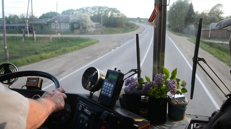 Работа водителя на Ikarus-280.03 1990 г.в., №АК40074 (100)