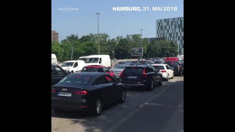 Stau in Hamburg dank Diesel-Fahrverbot: Schaut mal