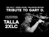 TALLA 2XLC - Tribute to GARY D.