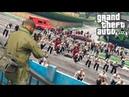 ГТА 5 МОДЫ ОГРОМНАЯ ТОЛПА ЗОМБИ НАПАЛА НА ВЫЖИВШИХ В GTA 5! - ЗОМБИ АПОКАЛИПСИС! - GTA 5 МОДЫ