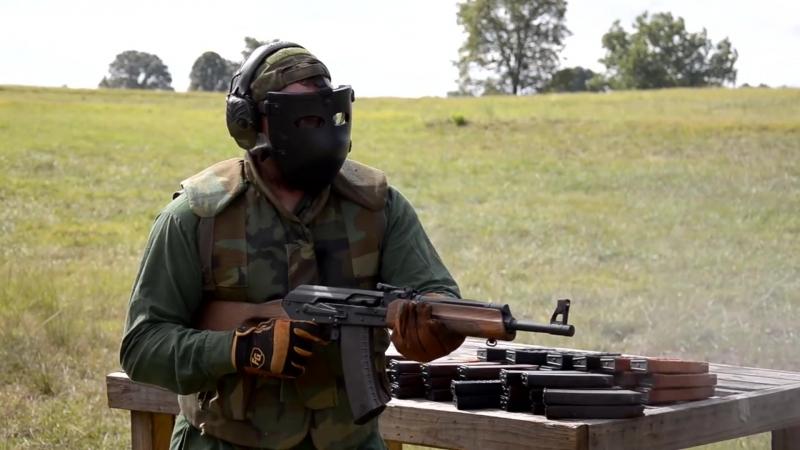 AK 74 бесконечные патроны