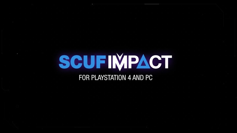 SCUF IMPACT Controller for PlayStation 4 & PC | Custom Order Now!