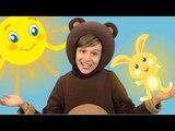 Три Медведя - Солнечный зайчик - Детская Песенка про Солнечного Зайчика