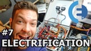 Converted electric car Wiring - ELECTRIFICATION 7 (Vlog 28)