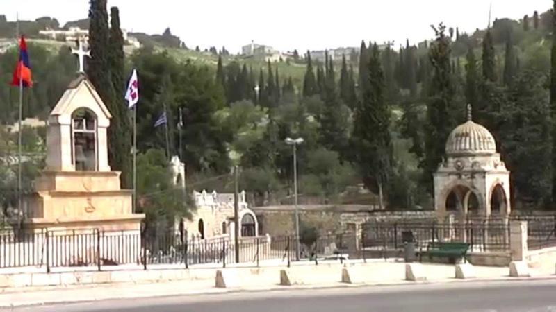 Jerusalem (March 2012). Часть 2. Масличная гора