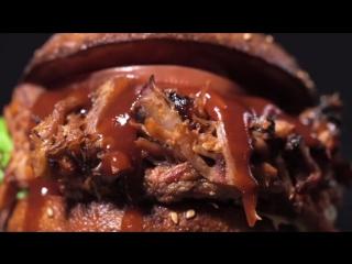 Идеальный  Pulled Pork  бургер