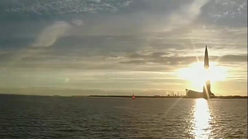 Облака над Лахтой