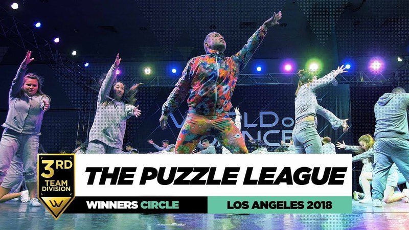 The Puzzle League   3rd Place Junior Division   Winners Circle   World of Dance Los Angeles 2018   Danceproject.info