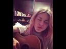Frances Bean Cobain debut song
