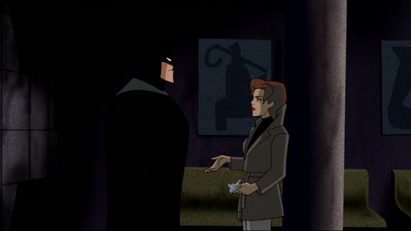 Бэтмен. тайна женщины летучей мыши