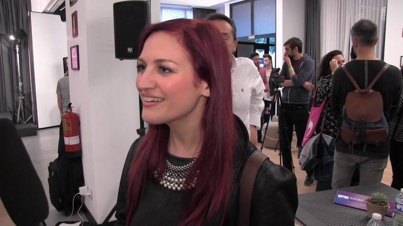 ESCKAZ in Madrid Interview with Jessika San Marino