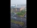 вот такой ливень с грозой и градом прошёл в Казани 26. 06 2018 г.