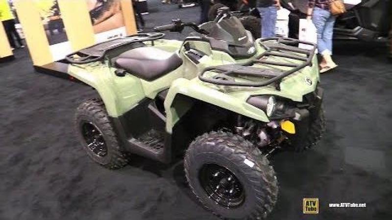 2018 Can Am Outlander 450 ATV - Walkaround - 2017 Toronto ATV Show
