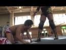 Kazusada Higuchi Toru Owashi vs Yuki Ueno Nobuhiro Shimatani DDT Road to Ryogoku 2018 ~ Dramatic Dream Tsugaru Shamisen