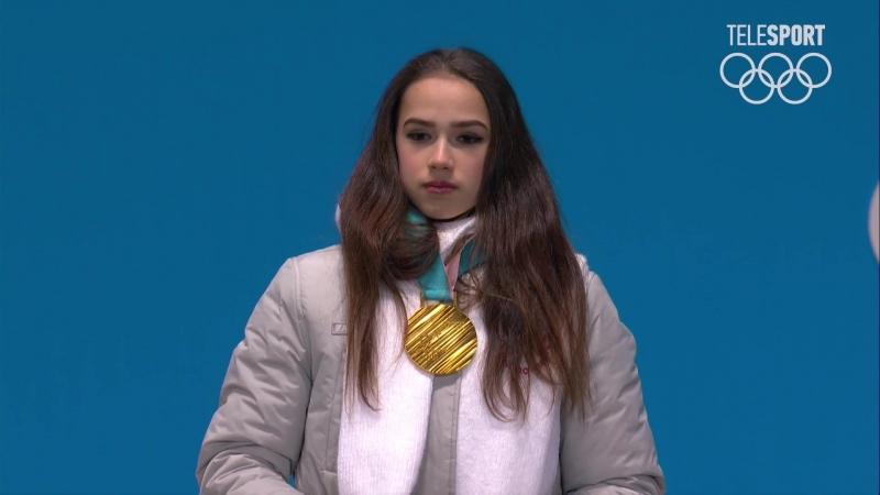 OG Women Medal Ceremony