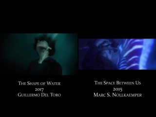 Similarities between The Shape of Water and other movies