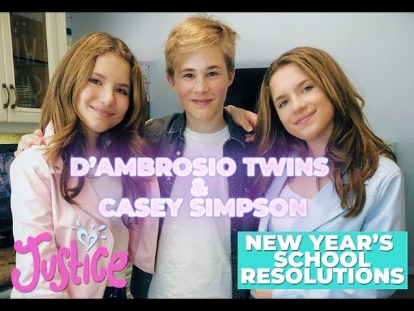New School Year Resolutions w/ Casey Simpson and The D'Ambrosio Twins