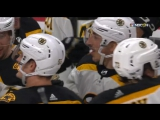 The victorious puck Marchand in overtime