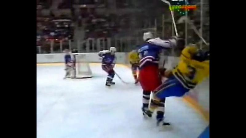 Лиллехаммер 1994. Швеция - США (19.02.1994)