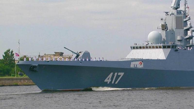 ВКронштадт выдвинулась группа кораблей Северного флота. Новости. Первый канал