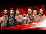WWE RAW 13th November 2017 Roman Reigns &amp The Shield Vs The miz , Cesaro &amp Sheamus