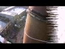 Демонтаж трубы воздуховода