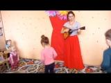 Фольклорное занятие в народном русском стиле. детский центр