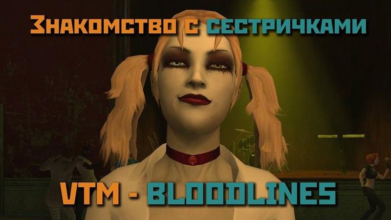 Vampire The Masquerade Bloodlines 2 Сёстры по Крови
