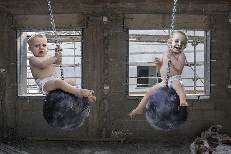 jffhk94nxbA - Папа-фотограф: дети в опасности