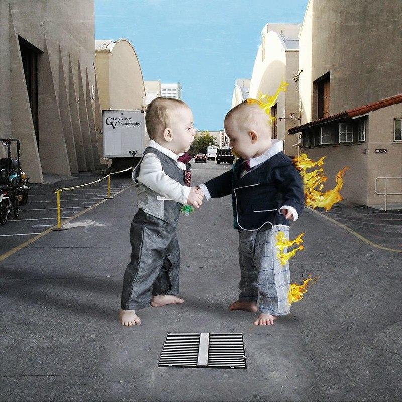 dFKYMVNc4xA - Папа-фотограф: дети в опасности