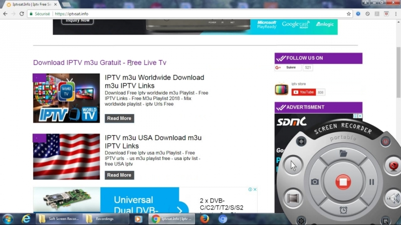Iptvsat.info for free iptv m3u servers 2018