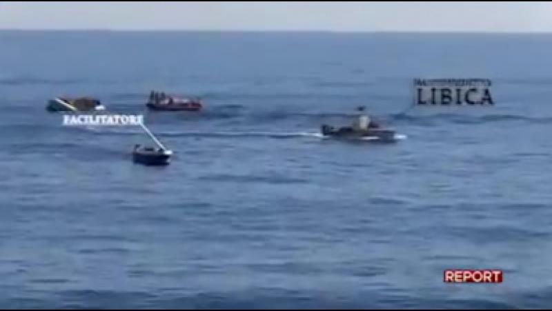 Stefano Borghesi - Ong, migranti, trafficanti, Guardia Costiera libica e elicotteri della missione interforze Sophia tutti insi