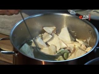 03.Сельдереевый суп с индейкой и грибной крем-суп с индейкой.