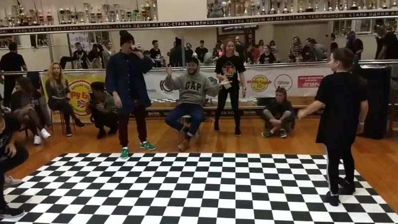 Jerry G (win) vs Софита. 1/4 финала хип-хоп Pro. Skills battle Анапа 2017
