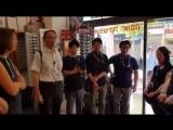 Молодая группа японцев спели <<Золотой Иерусалим>> на иврите