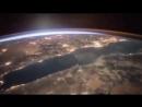 Как на Землю приходит Рассвет. Вид из космоса