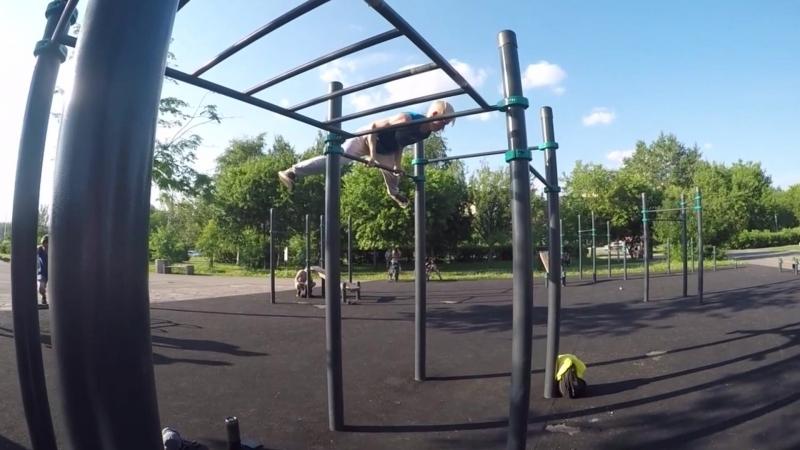 Подборка за июнь😉💪 calisthenics freestyle handstand freestylebar train streetworkout workout24 acrobatics gymnasti