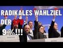 Radikales Wahlziel der SPD 9%