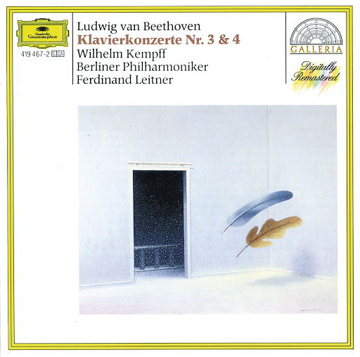 Wilhelm Kempff альбом Beethoven: Piano Concertos Nos 3 & 4