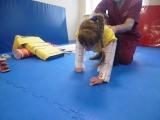 Занятие лфк в центре Сакура. Лерочка учиться ползать, для кого то это очень легко, а для деток с ДЦП это очень тяжелый труд!!!