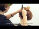 Вечерняя прическа ракушка ★★★★★ Людмила Цырулик парикмахер тв