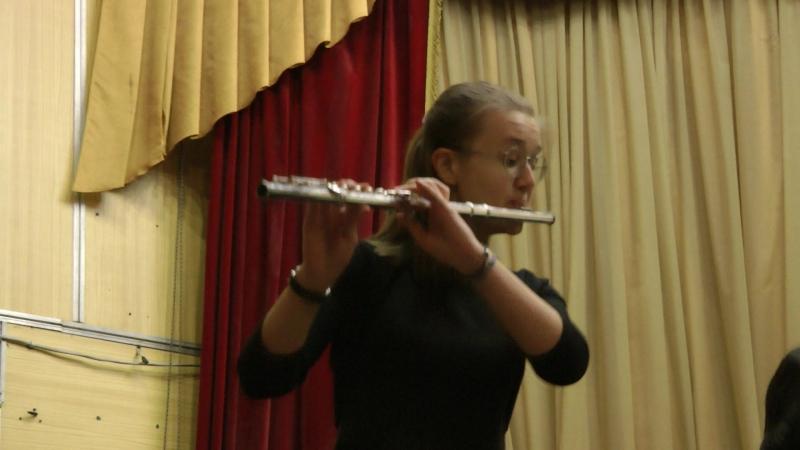 Джон Раттер - Рондо из Античной сюиты Исполняет Ксения Зверева, концертмейстер Оксана Чугай