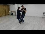 Алёна и Руслан 6 месяцев обучения в студии Алекса Берга